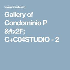 Gallery of Condominio P / C+C04STUDIO - 2