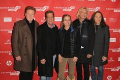 Glenn Frey, Timothy B. Schmit, Alison Ellwood, Don Henley and Joe Walsh at event of History of the Eagles Part One