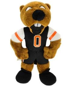 Forever Collectibles Oregon State Beavers 8-Inch Plush Mascot - Orange