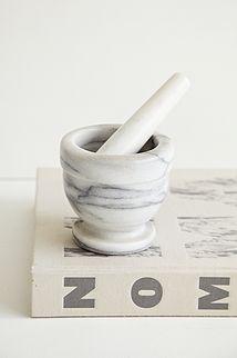 Marmor mortor - 150kr. Køb den på www.loppedesign.dk