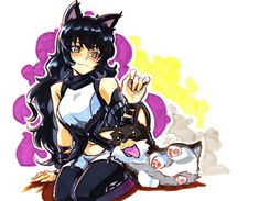 Blake and Zwei by RustyArtist on DeviantArt