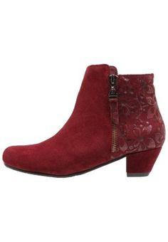 TULIPE - Ankelboots - wine Booty, Ankle, Wine, Fashion, Tulip, Moda, Swag, Wall Plug, Fashion Styles