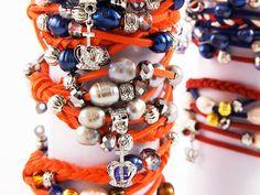 Maak je eigen unieke parel-armband in koninklijke sfeer. Prachtige echte parels, in combinatie met mooie glimmende kristallen kralen en een geluks-bedel in de vorm van een kroontje!