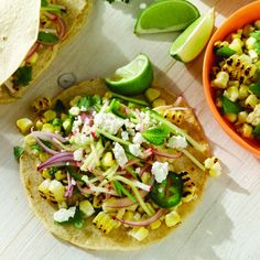 Vegetarian Tacos     .thejennyevolution.com