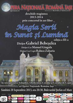 Opera deschide stagiunea cu concertul ''Magia Serii in Sunet si Lumina'' | iasifun.ziaruldeiasi.ro