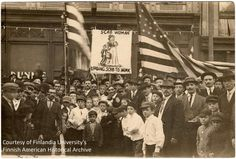 The 1913-14 Michigan Copper Strike was an extremely important event in American labor history. The strike began July 23, 1913, in Michigan's Copper Country. Many in the Copper Country were soon bitterly divided between two camps, a pro-mining company contingent and a pro-union (Western Federation of Miners) faction. Acts of violence from both sides further polarized the copper region