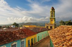 Photo about Cuba, Trinidad. This is the Bell tower of the Iglesia y Convento de San Francisco. Image of bell, trinidad, church - 13215137 Cuba People, Cuba Tours, Going To Cuba, Grand Cayman Island, Cruise Destinations, Cuba Travel, Vacation Packages, Wanderlust Travel, Caribbean