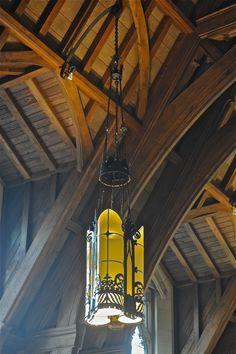 In ambient, mixed light; Feinstone Lounge, Sullivan Hall; Temple University; Philadelphia, Pennsylvania, USA. September 2011.