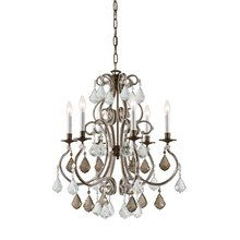 View the Crystorama Lighting Group 5106-CL Crystal Six Light Chandelier from the Manchester Collection at LightingDirect.com.