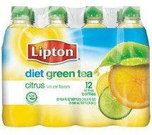 Diet green tea with citrus! Yummmm!
