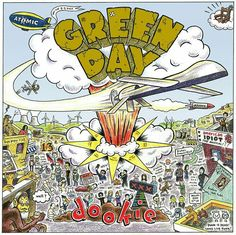 Seriously look at this.  Dookie 20 yrs album cover.  So much thought was put into the design of this and so many references from the bands other albums and songs. Mind blowing