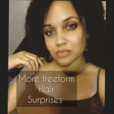 After my most recent hair wash, I noticed some new transitions my freeform hair is talking. Does this happen to everybody? Free Form Locs, My Hair, Journey, Shit Happens, The Journey