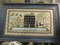 A Ghoultide Welcome by Plum Street Samplers
