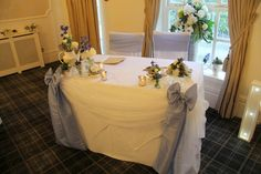 Beautiful Winter Wedding Day at Singleton Lodge for Amanda & Peter Blue Wedding Flowers, Bridal Flowers, Lodge Wedding, Wedding Day, Afternoon Tea Wedding, Country House Hotels, Blue Bridal, Flower Designs, Amanda