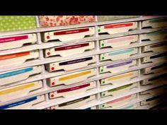 Ink Pad storage using Foam board - YouTube