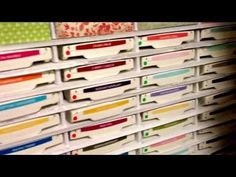 Ink Pad storage using Foam board - YouTube