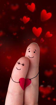52 Ideas funny cute love kiss for 2019 Love Heart Images, Love You Images, I Love Heart, Love Pictures, Love Wallpapers Romantic, Romantic Love, Cute Wallpapers, Romantic Images, Desktop Wallpapers