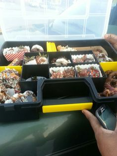 Father's Day Toolbox w/chocolate covered fruit & pretzels