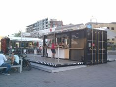 "A walking tour of Vieux Montreal by Mick Ricereto - Muvbox ""food trucks"" in the old port."