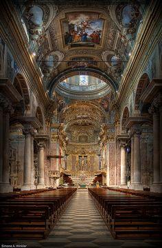 Basilica San Giovanni Battista, Finale Ligure, Italy