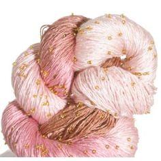 Artyarns Beaded Silk Light Yarn - 130 w/Gold