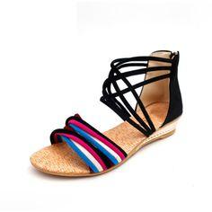 Sandalias de playa mujer Bellas Tendencia en Moda!