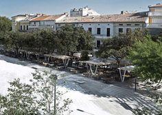 Stjepan Radić town square by NFO