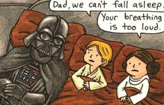 "Vader and son ""bedtime"""