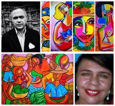 Dina Garcia: Artigo sobre a arte de Dina Garcia do mestre Narla...