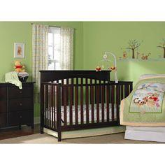 Disney Baby - Pooh & Friends 3pc Crib Set Bundle