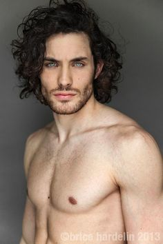 He is a werewolf... and a damn hot one at that...