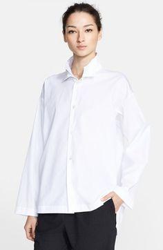 eskandar Cotton Poplin Shirt.