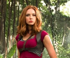 Transform from Martha into the Ruby Roundhouse avatar who appears in the 2017 movie, Jumanji: Welcome to the Jungle.