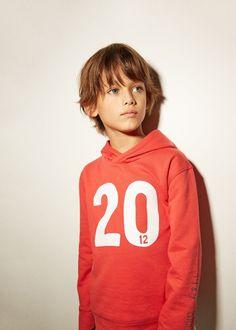 Sudadera algodón número - Niños | MANGO Kids España