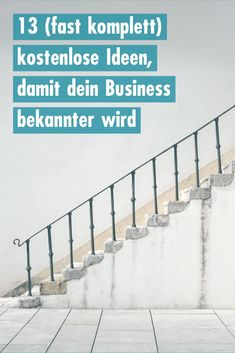 13 (almost complete) free ideas to make your business more visible - tips for pr. - 13 (almost complete) free ideas to make your business more visible – tips for press work What jou - Affiliate Marketing, Marketing Plan, Marketing Tools, Business Marketing, Content Marketing, Social Media Marketing, Online Business, Public Relations, K Om