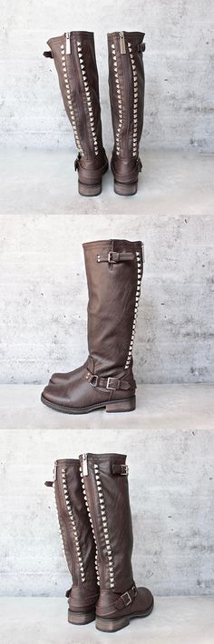paige tall women studded riding boots - more colors - shophearts - 1