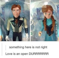 "so funny! it should have been ""love is an open derp"" but hey its still funny Stupid Funny, The Funny, Hilarious, Funny Stuff, Random Stuff, Disney And Dreamworks, Disney Pixar, Disney Magic, Lol"