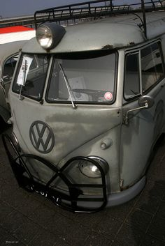 I think it would be so fun to have a VW bus. <3