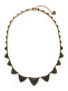 pyramid station necklace / house of harlow