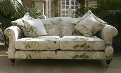 LARGE SOMERBY SOFA.  Such a pretty sofa from www.interiorsbyvale.com