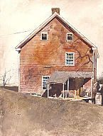 Andrew Newell Wyeth (American, 1917–2009)  Stove Coal, 1970  Watercolor on paper  28 1/4 x 21 1/4 in. (71.76 x 53.98 cm)  Gift of Jane Bradley Pettit M1980.195   Photo credit P. Richard Eells  © Andrew Wyeth