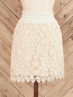 Altar'd State Crochet Your Way Skirt