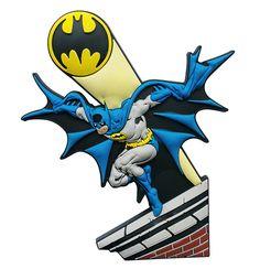 Batman Batsinal - Imã de Geladeira - DC Comics