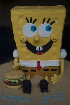 Sponge Bob Square Pants Cake | Flickr - Photo Sharing!