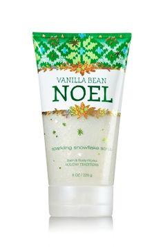 Vanilla Bean Noel Sparkling Snowflake Scrub - Signature Collection - Bath & Body Works