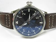 PARNIS Black dial 44mm Special@9 SWAN NECK Watch 6 - Hand Winding - Parnis watch station