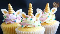 Die Einhorn-Cupcakes - Féerie cake