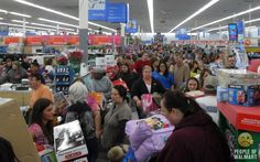 Black Friday @ Walmart...you couldn't pay me to participate in this!
