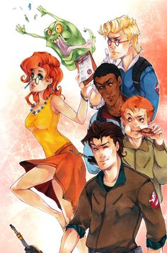 The real Ghostbusters by XMenouX on DeviantArt The Real Ghostbusters, Dragon Ball Z, Janine Melnitz, Kai, Ghost Pictures, Ghost Busters, Comedy Films, Old Movies, Dragons