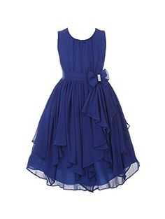 DressForLess Yoryu Chiffon Asymmetric Ruffled Flower Girl Dress , Navy, 14, (KK2040NV-14) DressForLess http://www.amazon.com/dp/B00K8GCP7C/ref=cm_sw_r_pi_dp_Xax-vb1E2XWD6